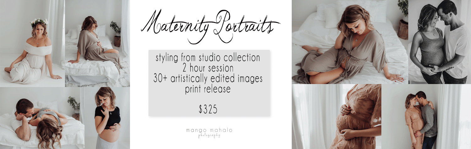 2018-Maternity-session-pricing