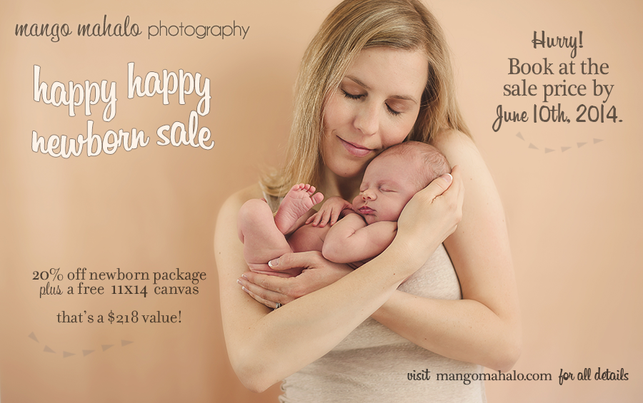 newborn photography by Mango Mahalo Photography by Michelle Anderson