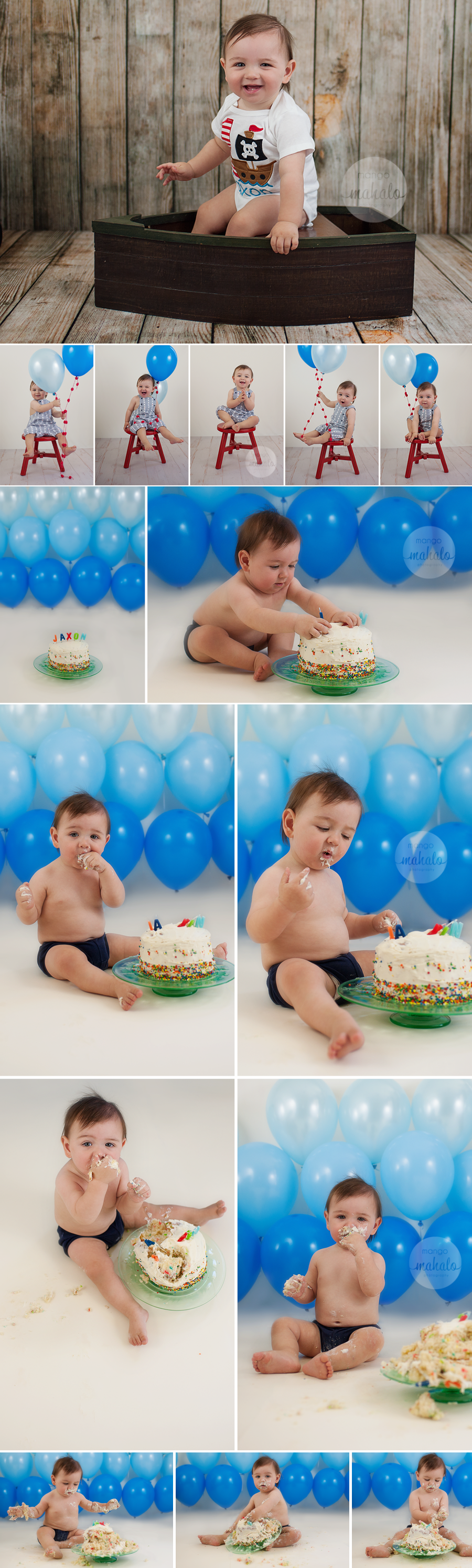 1st year child portraits and cake smash by Southern California Child Photographer Mango Mahalo Photography
